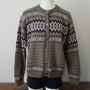 Eddie Bauer Button Down Cardigan Sweater